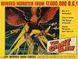 <i>The Giant Claw</i> 1957 film by Fred F. Sears