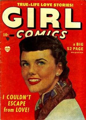 Girl Comics - Image: Girl comics 1 1 cover