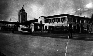Sky Giant -  Glendale's Grand Central Air Terminal was featured in Sky Giant, as well as in many other films of the era.