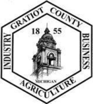 Gratiot County, Michigan - Image: Gratiot County mi seal