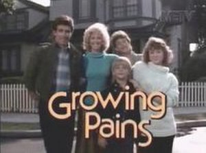 Growing Pains - Title card from seasons 2–3