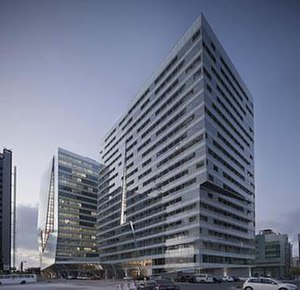 Lab Architecture Studio - Image: Guardian towers ground view 1 lab architecture studio