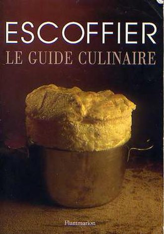 Le guide culinaire - 2001 printing of 4th edition in French