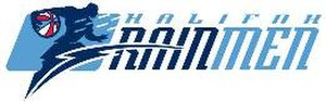 Halifax Rainmen - Logo used by the Rainmen (2007–08) during their time in the ABA.