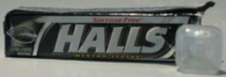 Halls (cough drop) brand name of a cough drop