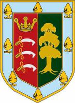Harrow High School - Harrow County School for Boys crest.