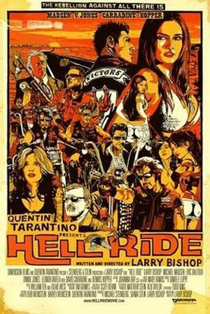Hell Ride - Promotional poster