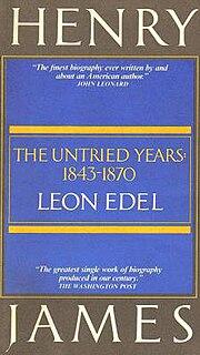 Leon Edel Canadian writer