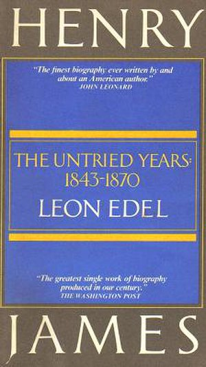 Leon Edel - Image: Henry James Biography
