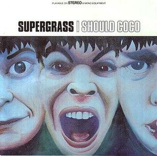 <i>I Should Coco</i> 1995 studio album by Supergrass