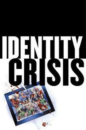 Identity Crisis (DC Comics) - Cover to Identity Crisis 10th Anniversary Edition. Art by Rags Morales.