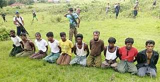 2017 mass killing perpetrated in Rakhine State, Myanmar