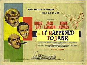 It Happened to Jane - Movie poster