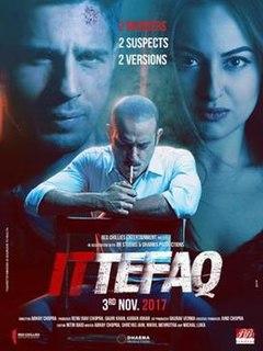<i>Ittefaq</i> (2017 film) 2017 Indian film by Abhay Chopra
