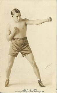 Jack Zivic American boxer