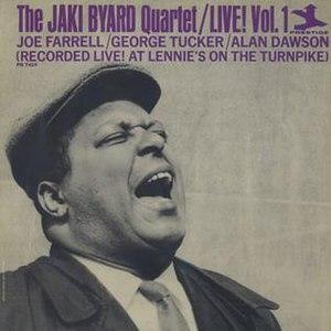 Jaki Byard Quartet Live! - Image: Jaki Byard Quartet Live!