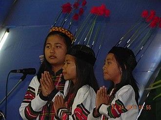 Jampui Hills - Image: Jampui children