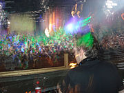 Jason Jollins performing at Pacha Buenos Aires