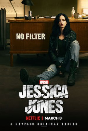Jessica Jones (season 2) - Teaser poster