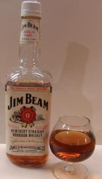Jim Beam - Jim Beam White Label, Beam's high-volume label.