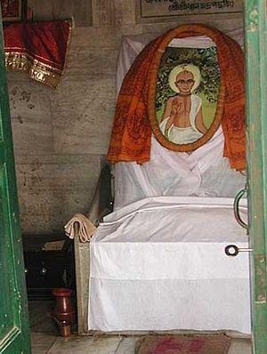 Jiva Gosvami's Bhajan Kutir in Radhakunda