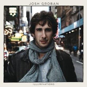 Illuminations (Josh Groban album) - Image: Josh Groban Illuminations Cover