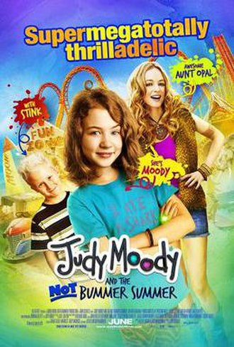 Judy Moody and the Not Bummer Summer - Theatrical release poster