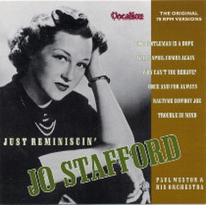 Just Reminiscin' - Image: Just Reminiscin Jo Stafford album