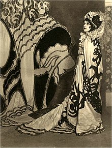 full length portrait of ballerina in exotic costume