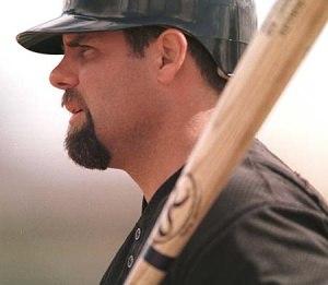 Ken Caminiti - Image: Ken Caminiti at Batting Practice
