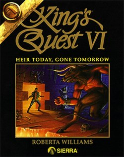 Quest VI de King - heredanto Hodiaŭ, Gone Tomorrow Coverart.jpg