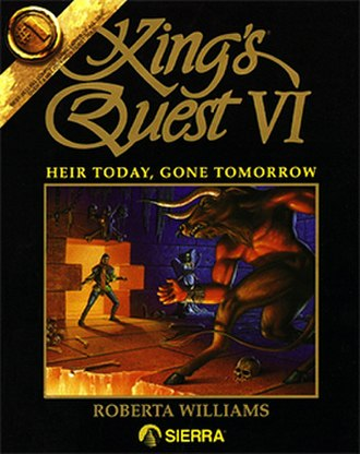 King's Quest VI - Cover art by John Shroades