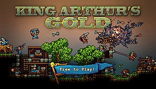 <i>King Arthurs Gold</i> 2013 free-to-play action video game