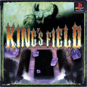 King's Field II - Japanese box art