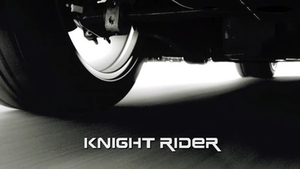 Knight Rider (2008 TV series) - Knight Rider intertitle