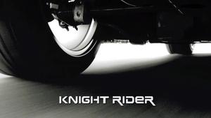 Knight Rider (2008 TV series) - Knight Rider intertitle