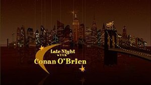 Late Night with Conan O'Brien - Image: Late Night Title Card HD