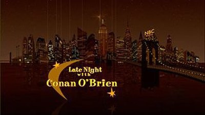 Picture of a TV show: Late Night With Conan O'brien