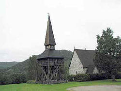 Liden Old Church from 1480