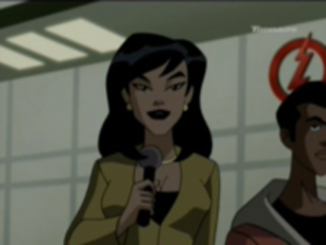 Linda Park (comics) - Linda Park as she appears in Justice League Unlimited