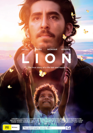 Lion (2016 film) - Australian Release Poster