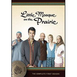 Little Mosque on the Prairie - The cover art for the first season DVD.