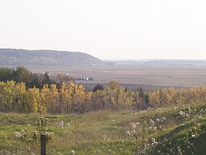 Mills County, Iowa - The Loess Hills and Missouri River Valley south of Glenwood