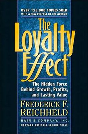 Book cover, The Loyalty Effect (revised editio...
