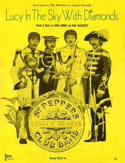 Lucy in the Sky with Diamonds 1967 song by the Beatles
