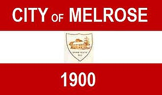 Melrose, Massachusetts - Image: Melrose MA Flag