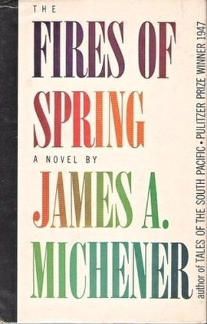 The Fires of Spring - First edition cover