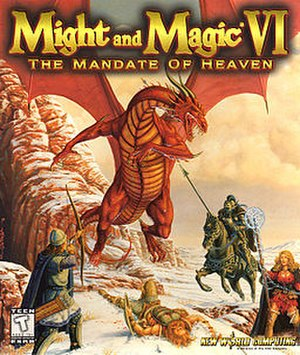 Might and Magic VI: The Mandate of Heaven - Image: Might And Magic 6Box