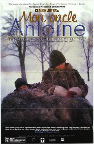 Mon oncle Antoine - Image: Mon oncle Antoine poster