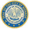 Official seal of Monroe, Louisiana